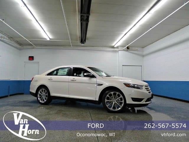 Ford Taurus Limited White Platinum Metallic Tri Coat Oconomowoc Wi